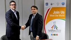 Costa Victoria ospiterà gli atleti dell'Universiade 2019 di Napoli. Sottoscritto il contratto di noleggio della nave con la compagnia italiana