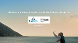 Regione Liguria, al via nuova campagna pubblicitaria per raccontare le bellezze della regione con spot di Costa Crociere