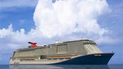 Carnival annuncia il nome della nuova unità: MARDI GRAS, in onore alla prima nave della flotta
