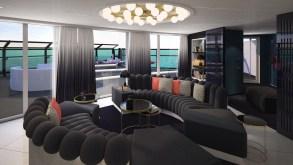 Virgin Voyages presenta le RockStar Suites, le sistemazioni di punta di Scarlet Lady