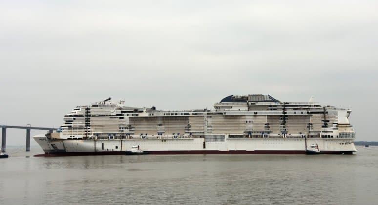 MSC Crociere, a Saint-Nazaire il float out di MSC ...