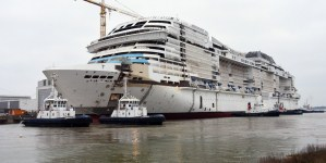 MSC Crociere, a Saint-Nazaire il float out di MSC Grandiosa