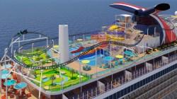 Carnival Cruise Line: 6 le aree tematiche a bordo della prossima ammiraglia Mardi Gras