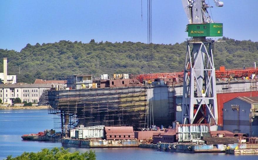 Brodosplit e Fincantieri formalizzano un'offerta per il salvataggio del cantiere Uljanik