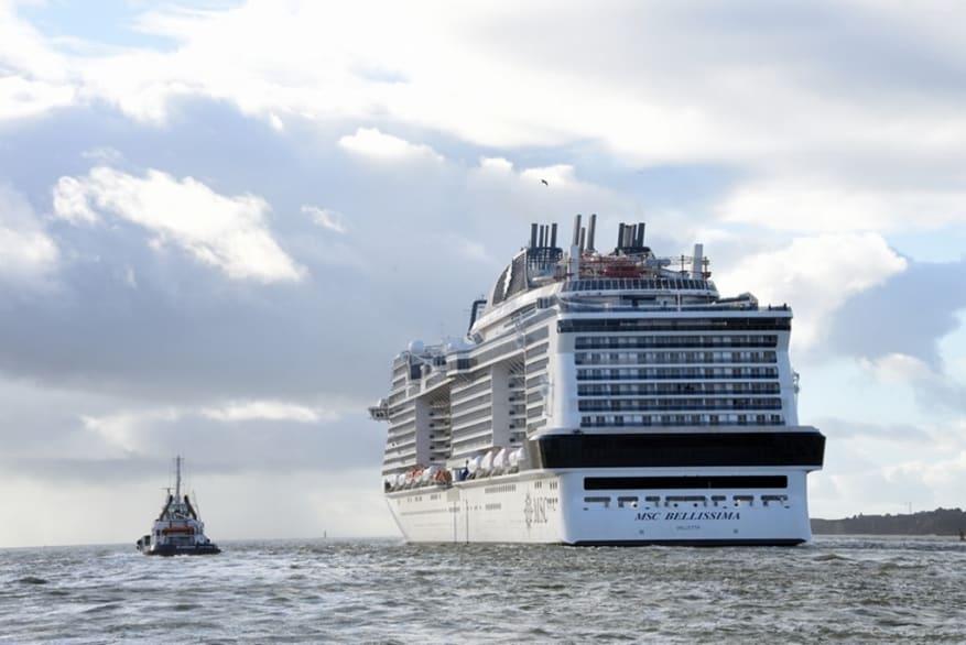 MSC Crociere: a bordo di MSC Bellissima la più grande area shopping della flotta