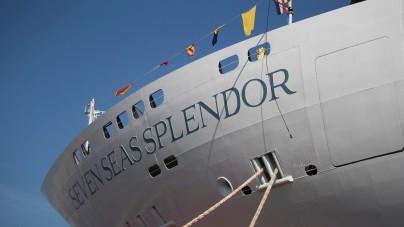 Fincantieri vara ad Ancona la Seven Seas Splendor