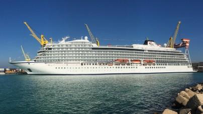 Fincantieri, consegnata ad Ancona la Viking Jupiter