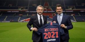 MSC Crociere nuovo official sponsor del Paris Saint-Germain Football Club