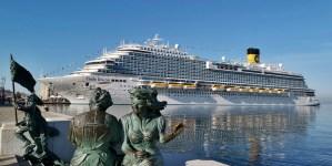 Costa Venezia, il nuovo gigante dei mari alla conquista del mercato asiatico