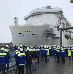 Finlandia, incendio a bordo di Costa Smeralda. Nessuna grave conseguenza.