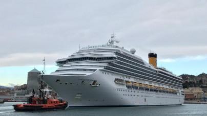 Costa Crociere torna nel porto di Genova: 40 scali nel 2019 con Costa Fortuna