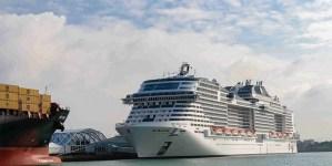 Battezza a Southampton MSC Bellissima, nuova ammiraglia della flotta