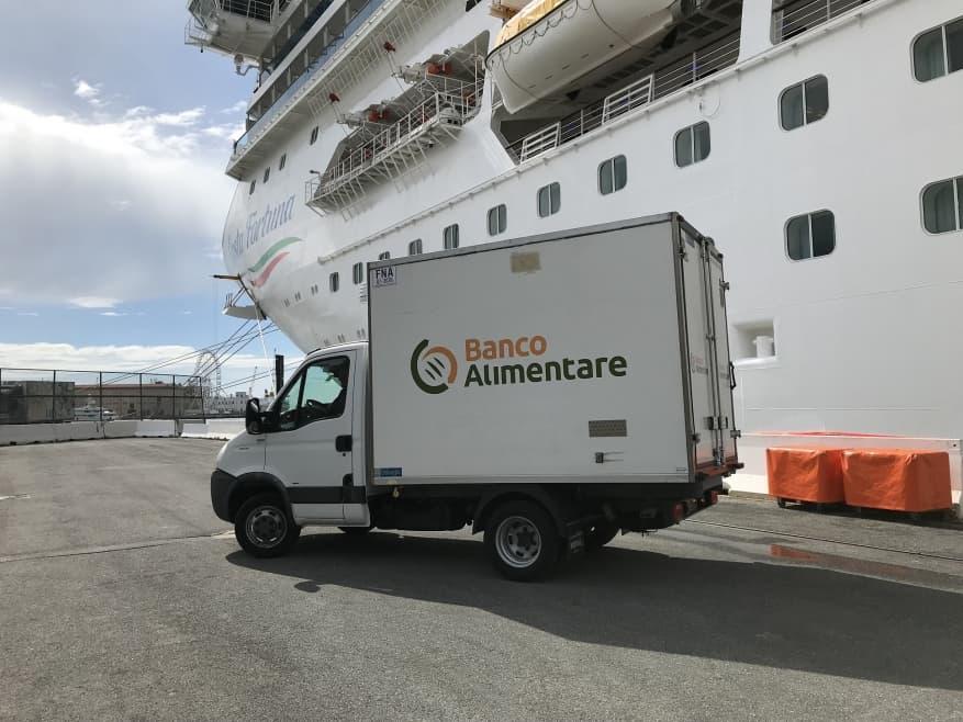 Sbarca a Genova la lotta allo spreco alimentare con Costa Crociere e Fondazione Banco Alimentare ONLUS