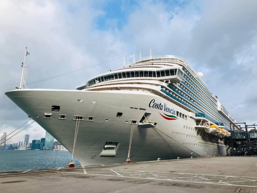 Maiden Call a Hong Kong per la nuova Costa Venezia