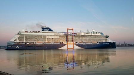 Celebrity Cruises: approdo a Southampton per Celebrity Edge. Tutto pronto per la stagione europea