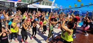 Grimaldi Lines, estate all'insegna della Grimaldi Dance Fit Cruise