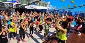 Grimaldi Lines, estate all'insegna della Grimaldi Dance Fit Cruise