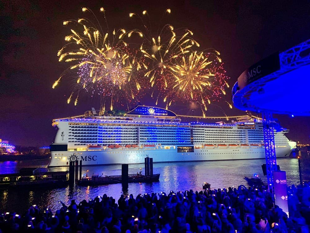 Battezzata ad Amburgo MSC Grandiosa, la più grande nave ...